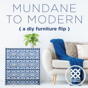 Mundane To Modern: A DIY Furniture Flip