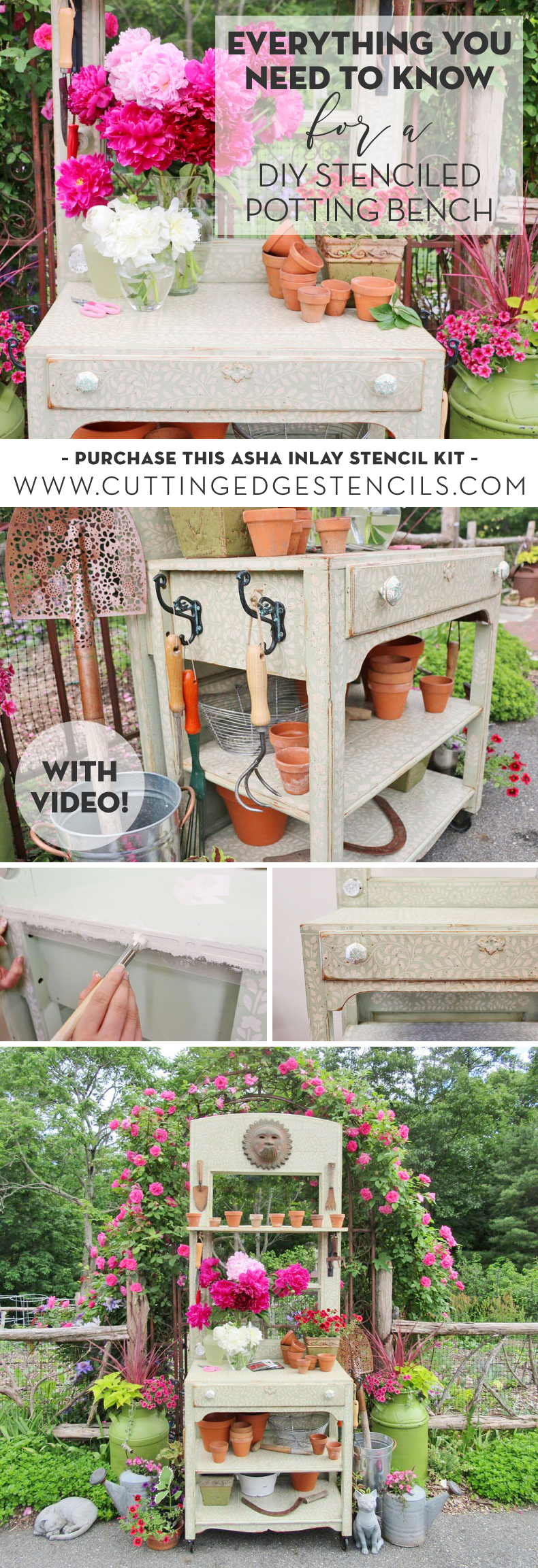 potting bench tutorial