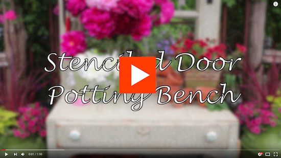 potting bench video