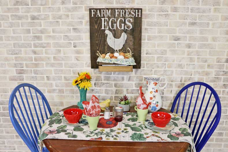 stenciled farmhouse signs farm fresh eggs final