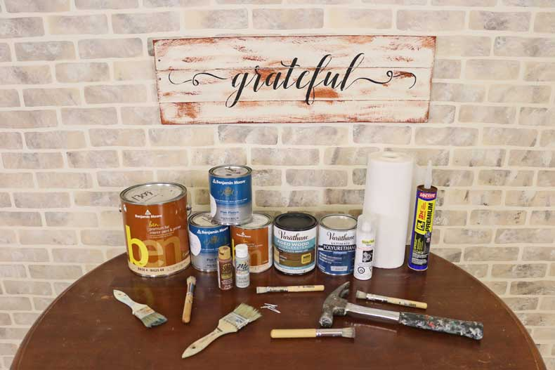 stenciled farmhouse signs products