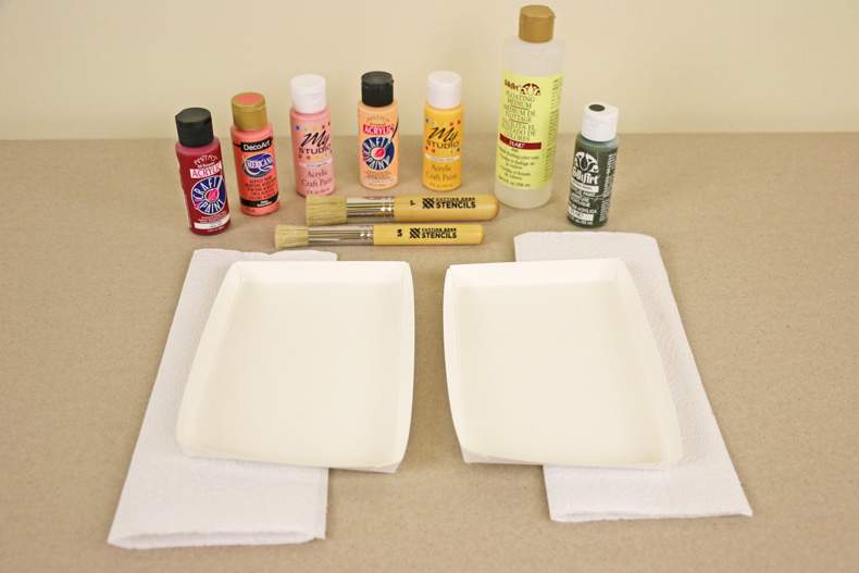 Stencil supplies for wall painting