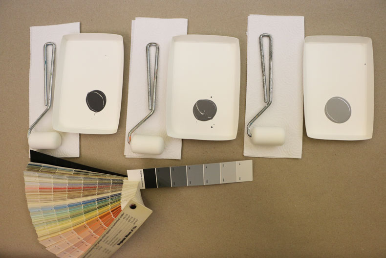 choosing colors for wallpaint