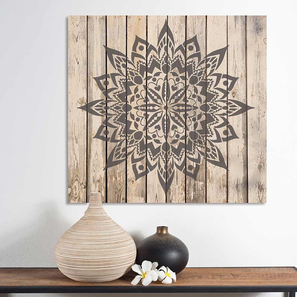 New Tribe Mandala Stencil