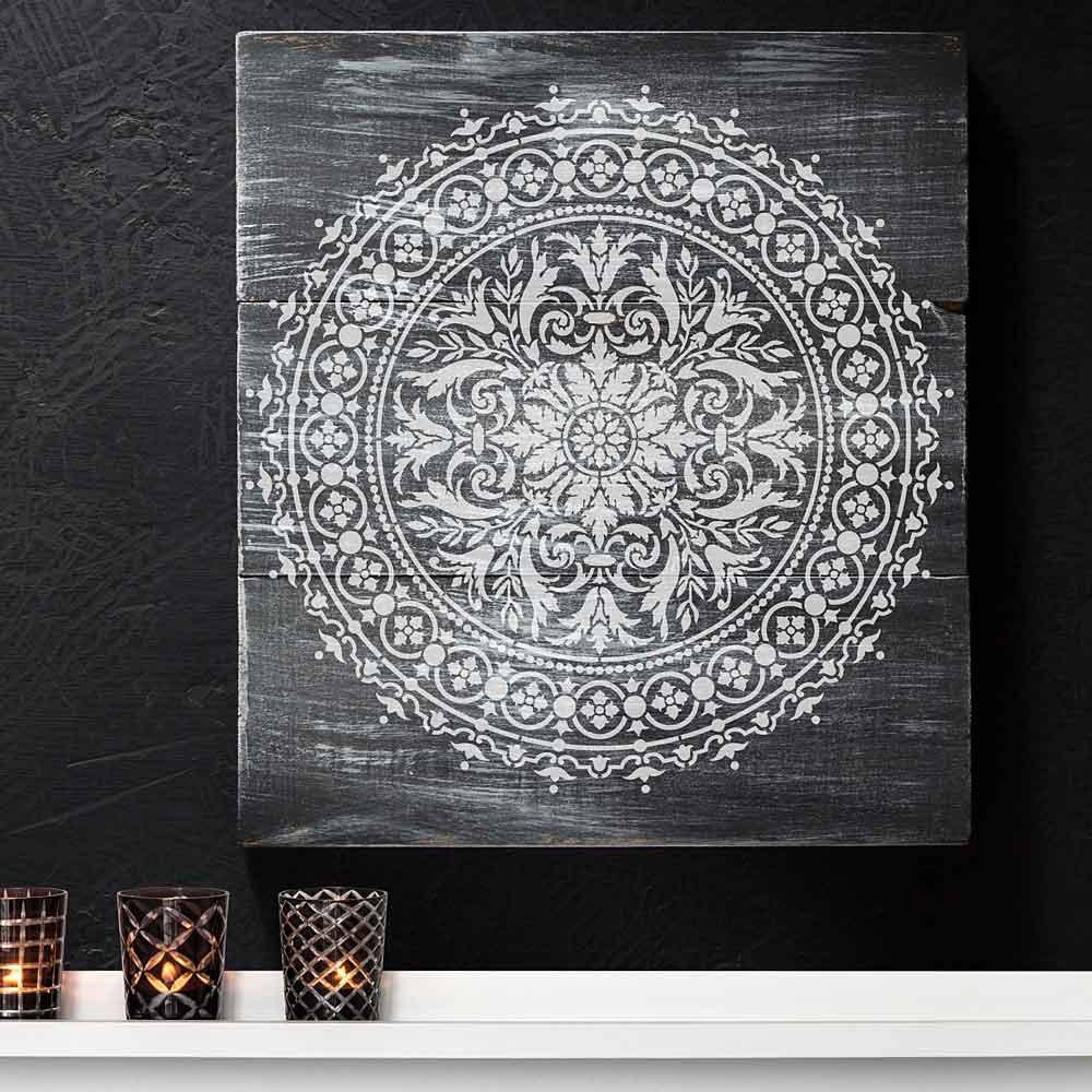 Abundance Mandala Stencil
