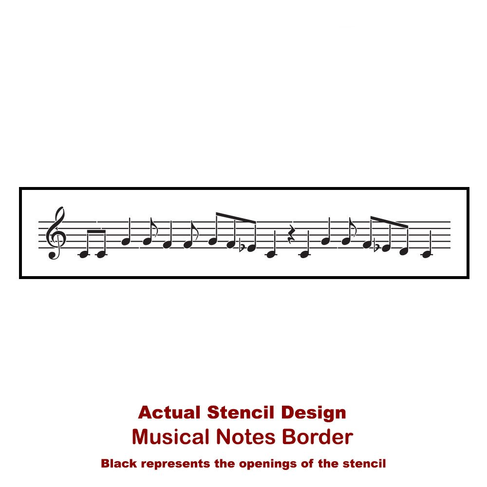 Home Decoration Wooden Music Notes for Crafts Laser Cut Music Alphabet Music Note