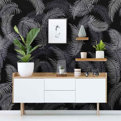 Palm Fronds 3-Piece Wall Pattern Kit